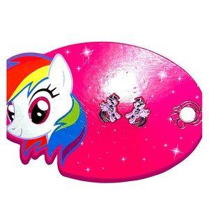 My little pony earring studs